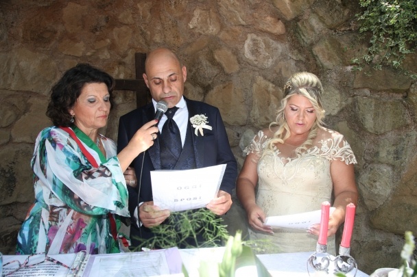 Silvio e Cinzia  Sposi